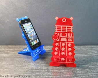 Doctor Who Dalek Phone Stand Charger Station Universal Stand for iPhone, Galaxy or More