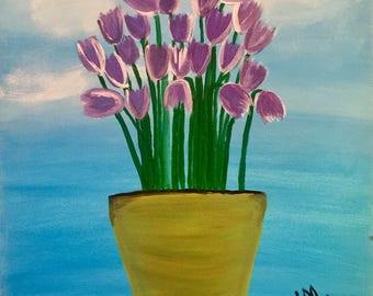 Perfectly Purple Tulips