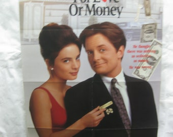 For Love Or Money 1993 Movie Poster mp082