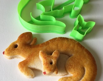 Kangaroo and Joey Cookie Cutter Set