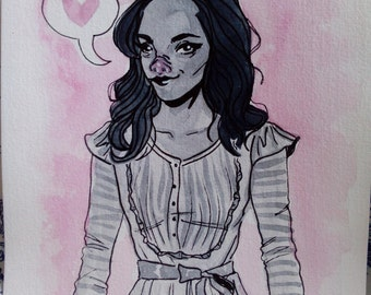 Penelope - Inktober #5
