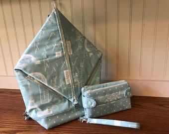 Backpack, Rucksack,Gifts for her, wallet, clutch, wristlet, shoulder bag,