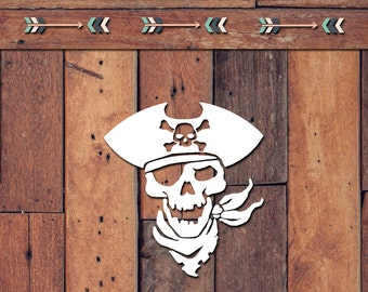 Pirate Decal | Yeti Decal | Yeti Sticker | Tumbler Decal | Car Decal | Vinyl Decal