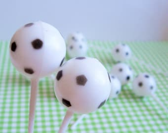 12 Soccer Cupcake Picks