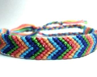 Chevron Friendship Bracelet Made To Order