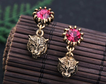 Vintage Fashion Jewelry Gecko Earring E35 Jackets for women 2015 new factory price