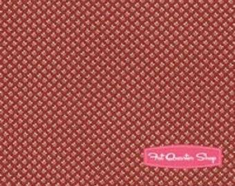 patchwork 4410716 beige Burgundy Moda fabric