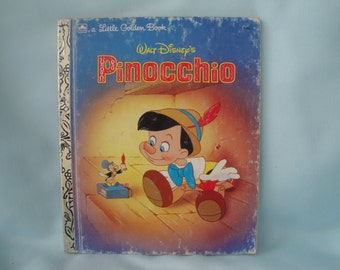 Walt Disney's Pinocchio/Little Golden Book Pinocchio/Pinocchio/1990