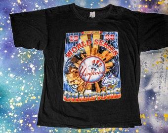 YANKEES 1988 World Series Baseball T-Shirt Size M