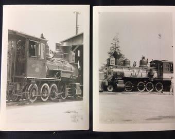 1940s Train Photos- Set of 2