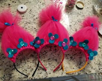 Trolls Princess Poppy Headband