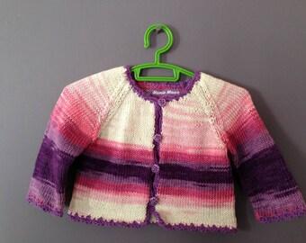 cotton Cardigan 3/6 months