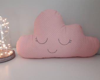 Lili-pink cloud pillow