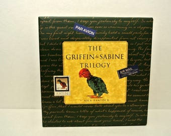 Vintage 1992 Three Volume Set The Griffin and Sabine Trilogy by Nick Bantock Letters and Postcards Collectible REDUCED