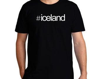 Hashtag Iceland T-Shirt