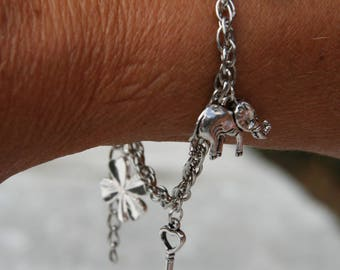 """Bracelet with charms """"lucky"""""""