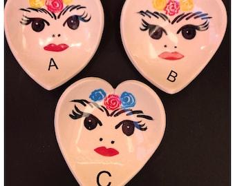 Frida heart bowls