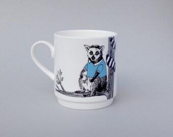 Lemur Stackable Tea Mug