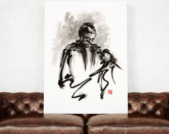 Samurai, samurai art, samurai paintings, ronin, japanese art, japanese warrior, japanese sword, japanese art