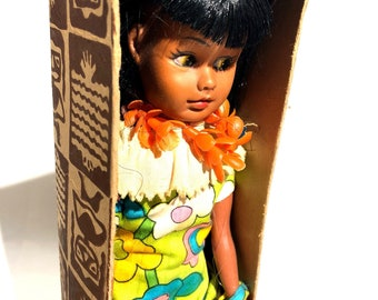 Vintage Hawaiian Hula Dancer Girl Novelty Gift