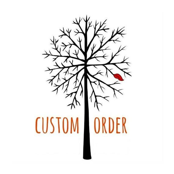 Custom order for Nora