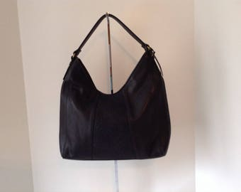 Naturalizer Genuine Black Leather Shoulder Bag
