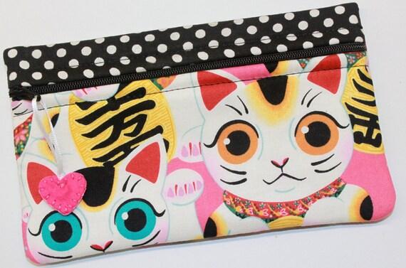 Side Kick Indochine Fuku Kitty Lucky Cat Bag