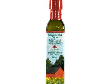 Chili Infused Sunflower Oil