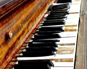 Rustic Piano Digital Download, Rustic, Photography