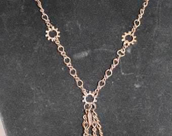 Copper Coin Necklace