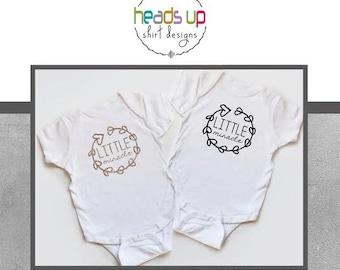Baby Girl Bodysuit - Little Miracle Baby Girl Shirt - Baby Shower Gift New Baby Girl - Trendy Baby Bodysuit - Little Miracle Shirt - Gift