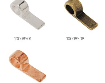 50PCS 17*5mm High Quality Glue On Bails Charms/Pendants 100085