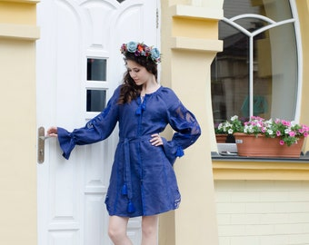 Ukrainian vyshyvanka dress