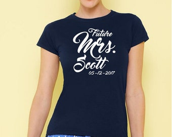 The new boss t-shirt - Funny T-Shirt- Bride and Groom T-Shirt - Custom T-Shirt-tee gift- wedding gift