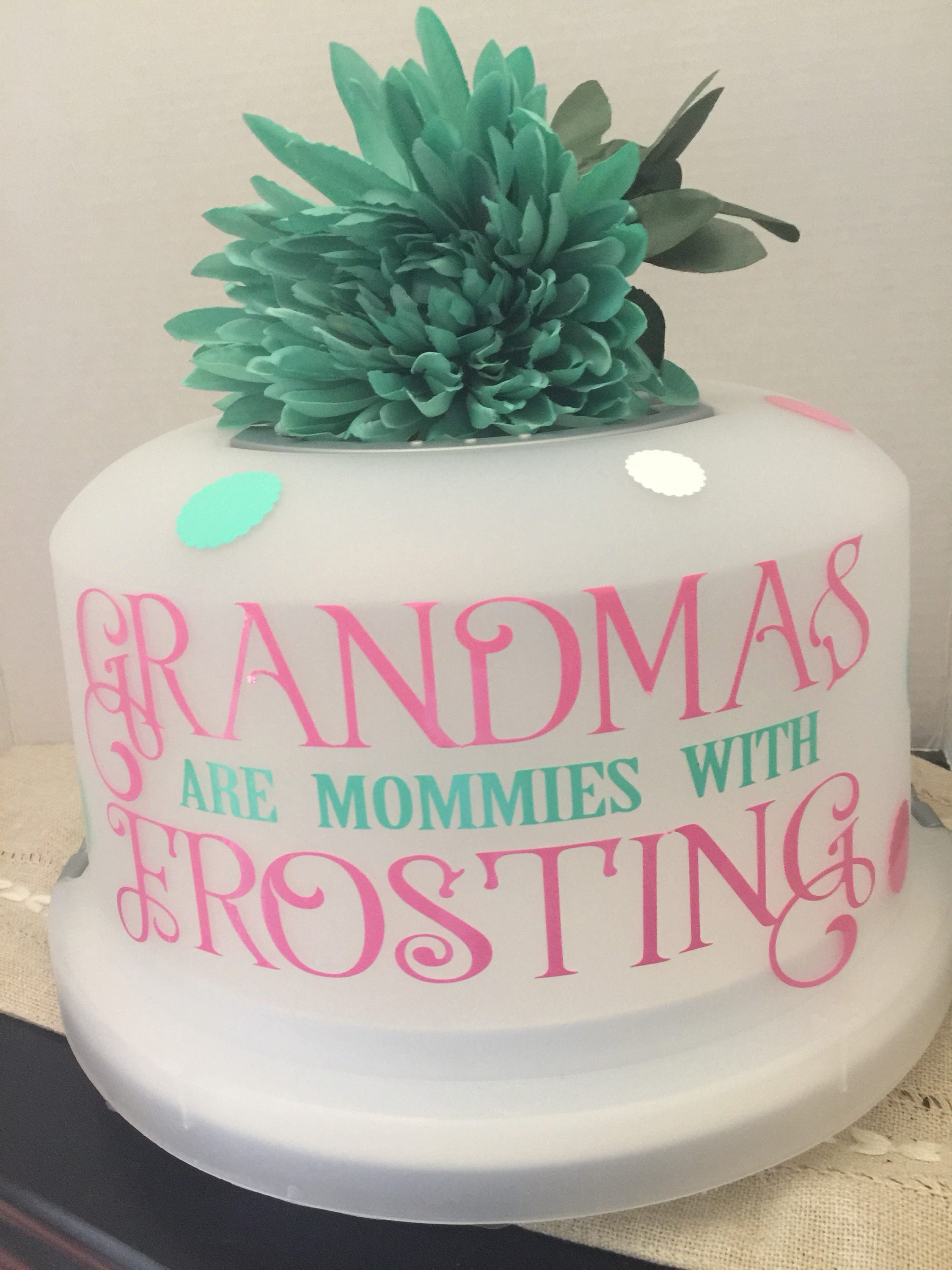 Free shipping cake cover cake carrier grandparents gift gifts free shipping cake cover cake carrier grandparents gift gifts for mom gift for her bridal shower personalized gift negle Image collections