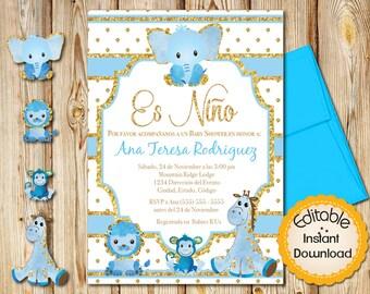 Spanish Baby Shower | Etsy