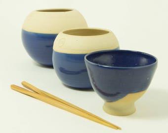 Bowl of summer lapis lazuli