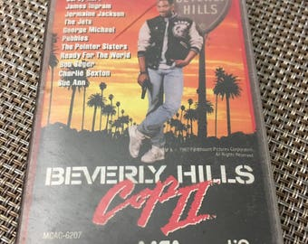 Beverly Hills Cop II Cassette Tape Soundtrack 1987