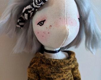 Naya- handmade doll, ooak doll, art doll, doll