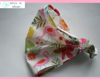 """scarf """"of the Flemish roses and flowers"""" shake head or headband"""