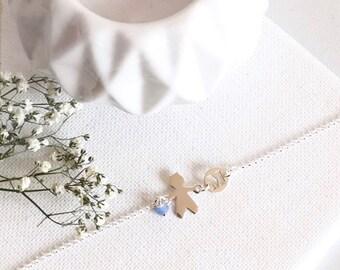 Chain bracelet | Boy bracelet | Girl bracelet | Sterling silver bracelet | Kids bracelet | Son bracelet | Daughter bracelet