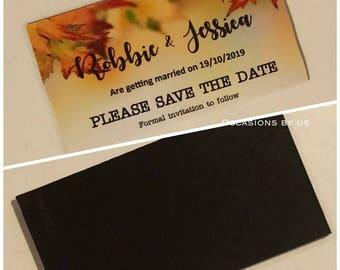 Bespoke save the dates!!!!