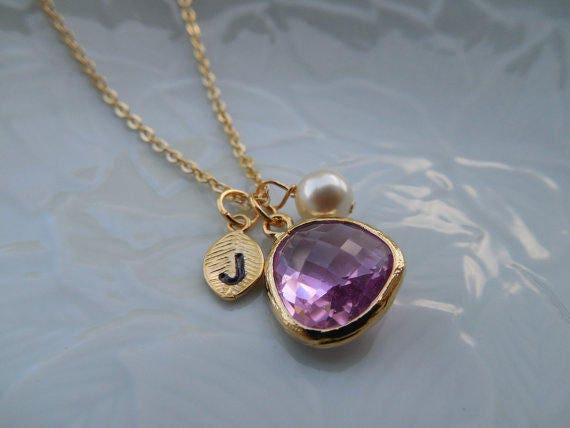friendly listing necklace birthstone drns june il moonstone solitaire eco