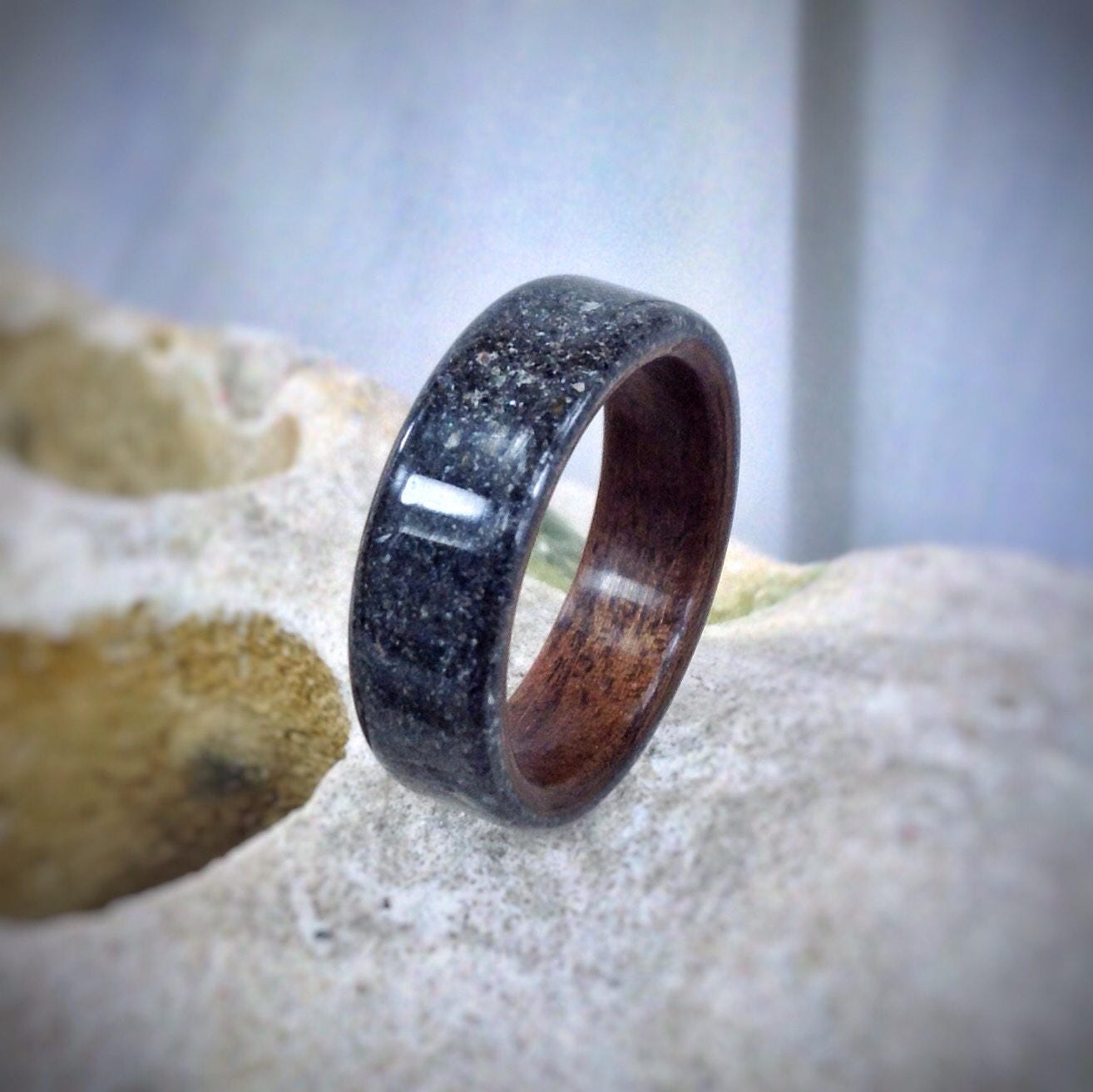 image of wood bent rings wooden wedding bentwood criolla brithday