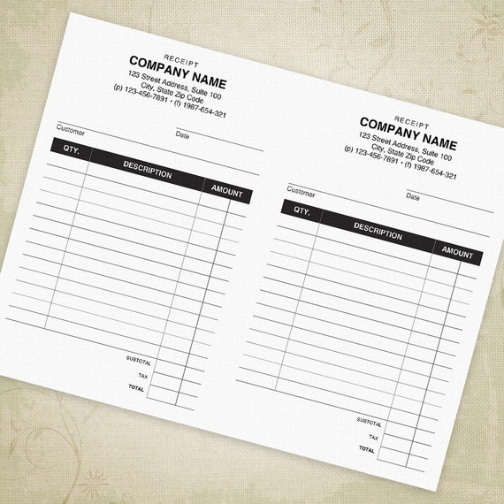 Zahlungseingang bedruckbar 55 x 85 halbe Blatt PDF