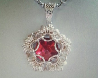Chainmaille Kit with full colour tutorial Ring O Roses