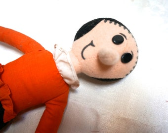 OLIVE OIL DOLL Popeye's Girlfriend, Comic character, Memorabilia, Stuffed doll, toy doll, Collector's Doll, Cloth doll, movie prop,