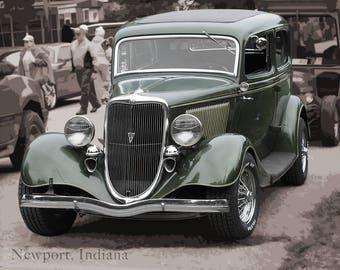Vintage Ford Hotrod