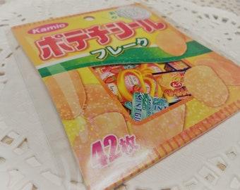 42 Pc. Kawaii sticker flake Japan Snacks planner stickers, scrapbooking, Snail Mail, Pen pal, Diy, School, Stationery, Diy, Cell phone.
