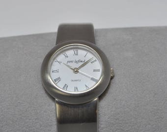 Yves laffond brushed metal watch, watch Bangle watch, woman